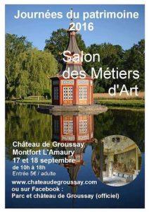 17 18 septembre 2016 journees du patrimoine et de l 39 artisanat ch teau - Chateau de groussay montfort l amaury ...