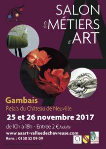 salon métiers d'art Gambais 25-26 novembre 2017