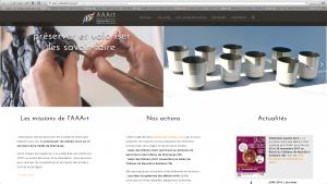 nouveau site internet AAArt