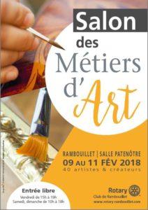 salon des métiers d'art Rambouillet 2018